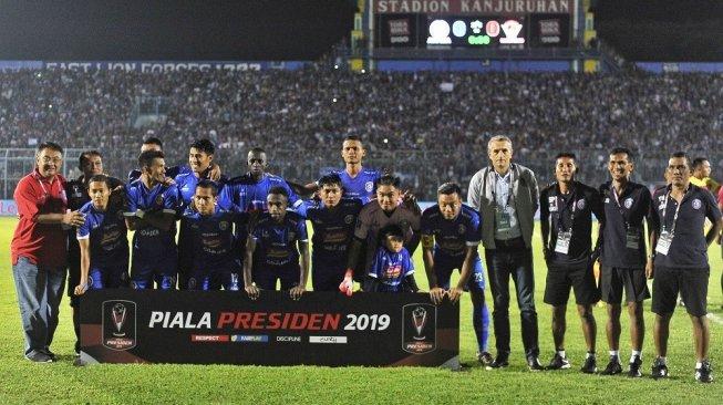 Arema FC dan Madura United Jadi Tuan Rumah Piala Gubernur Jatim