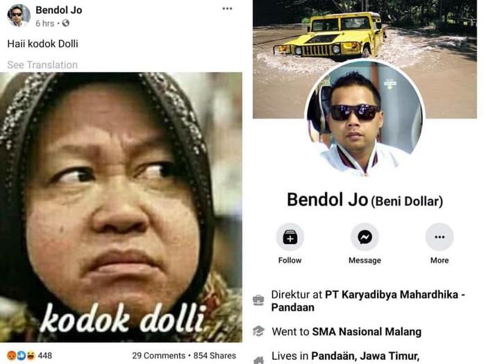Soal Kasus Penghinaan Wali Kota Risma, Polrestabes Surabaya Masih Bimbang