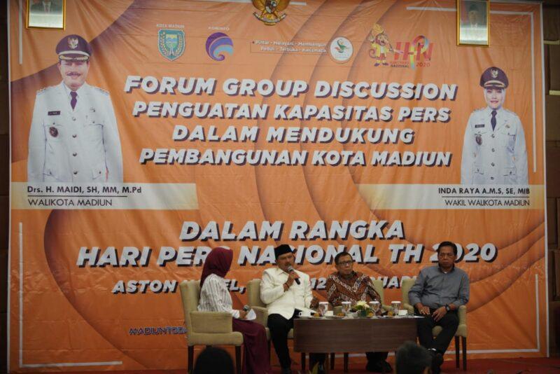 Pemkot Madiun Akan Fasilitasi Wartawan untuk Uji Kompetensi