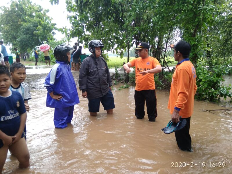 Kiriman Air dari Gunung Wilis, Satu Desa di Madiun Kebanjiran