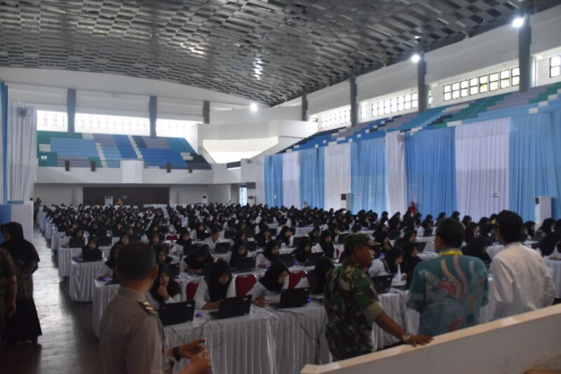 Ribuan Pelamar CPNS Kabupaten Madiun Ikuti Tes SKD