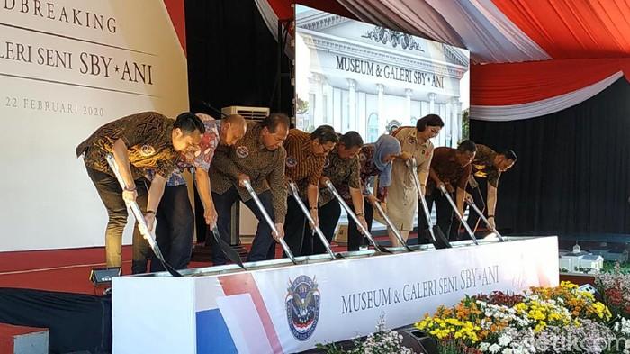 Bikin Museum dan Galeri Seni, SBY Mengaku Terinspirasi Presiden AS