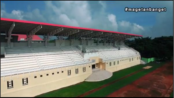 Lebih Bersih dan Nyaman, Ini Wajah Baru Stadion Yosonegoro Magetan