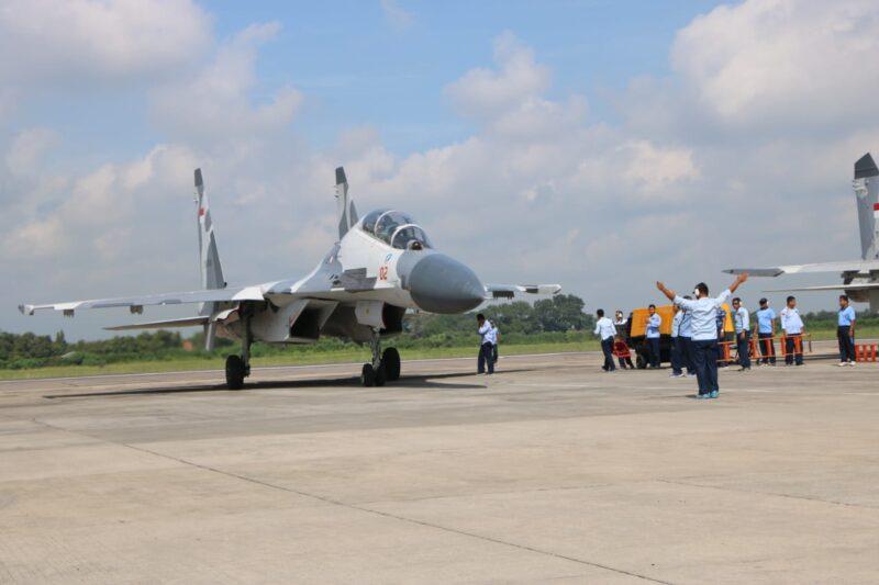 Lanud Iswahjudi Magetan Kini Punya Tiga Pesawat Sukhoi