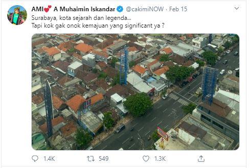 Sebut Kemajuan Surabaya Tak Signifikan, Cak Imin Bikin Ketua DPRD Gerah