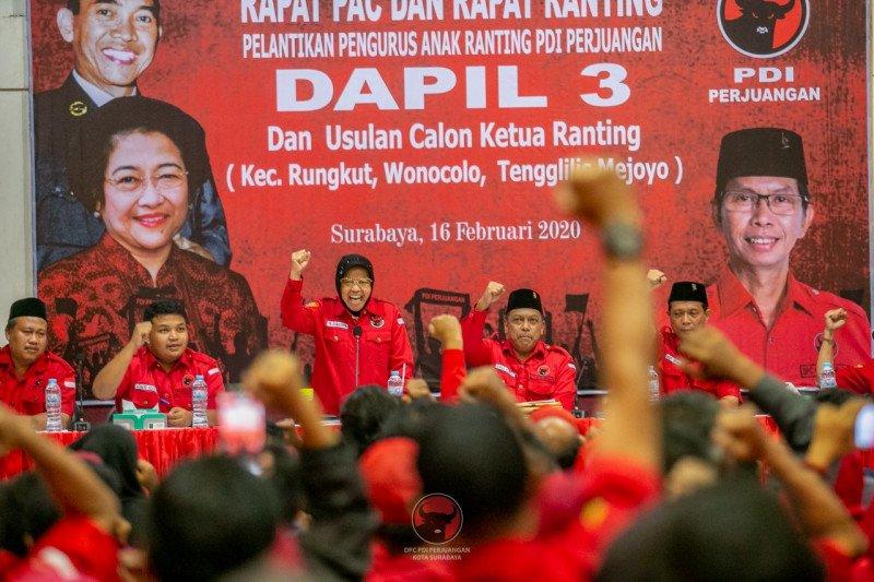 Wali Kota Surabaya Goda Anak Muda Untuk Masuk Partai Ini