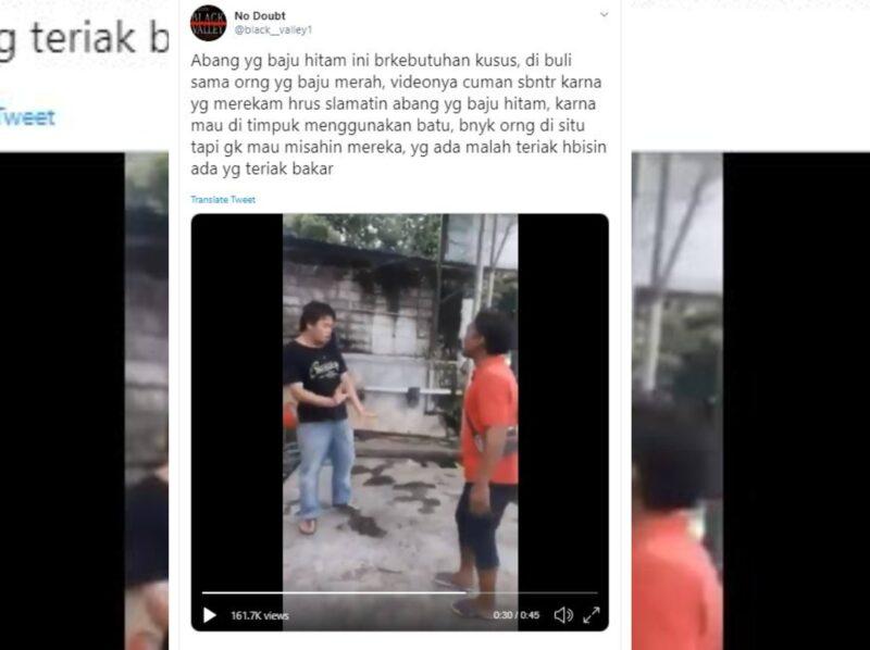 Video Pria Maki-Maki Pemuda Tunagrahita Viral, Warganet Minta Polisi Bertindak