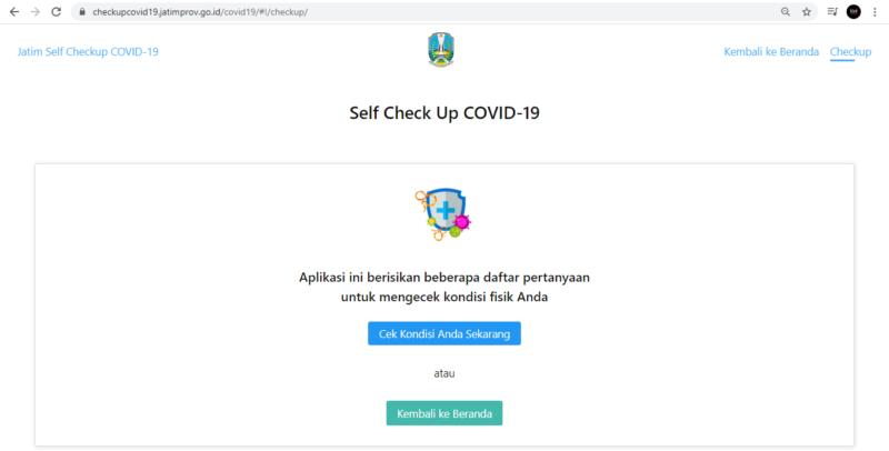 Begini Cara Cepat Check Up Covid-19