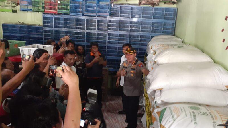 Polisi Tangkap Petani Tebu yang Timbun 4,5 Ton Gula Pasir