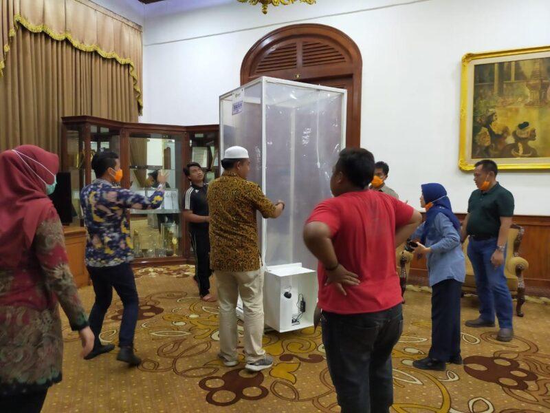 Bilik Sikat Corona Buatan Unibraw Malang Diminati Pemprov dan Polda Jatim
