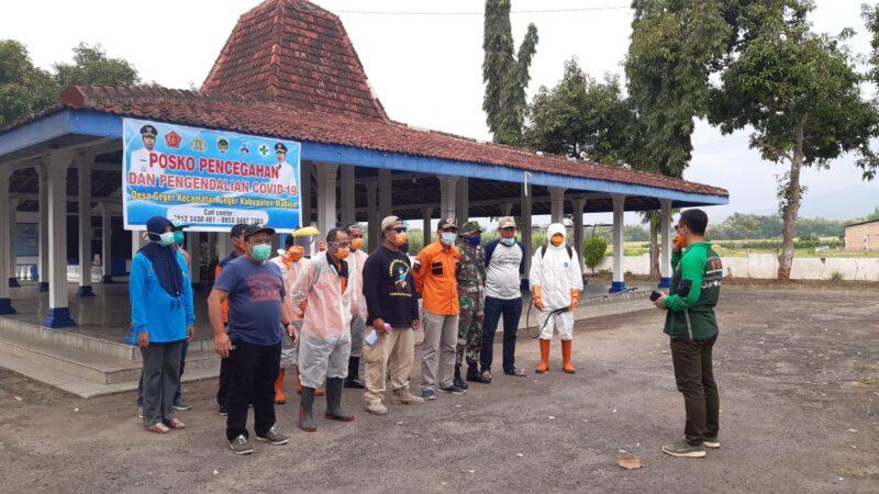 Cegah Persebaran Corona, Fasum di Desa-Desa Se-Madiun Disemprot Disinfektan