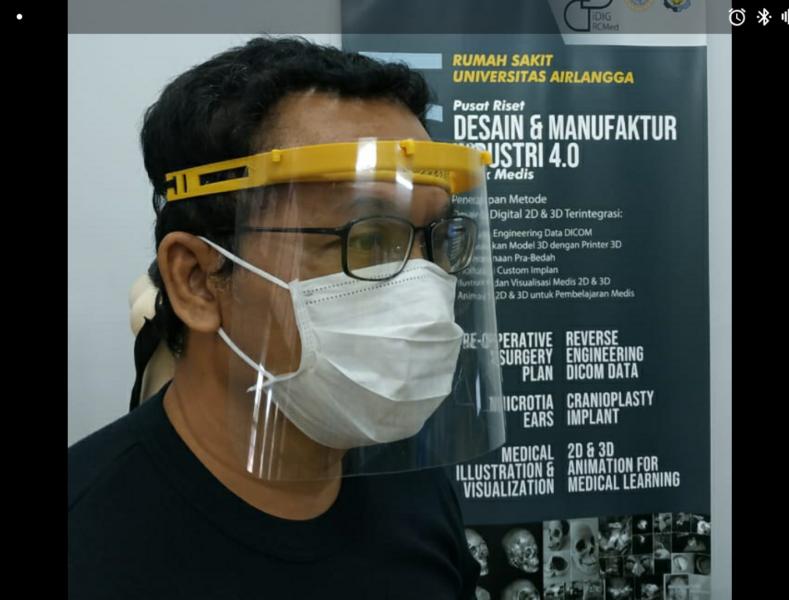 Dilengkapi Kaca, Ini Bentuk APD Buatan ITS Surabaya