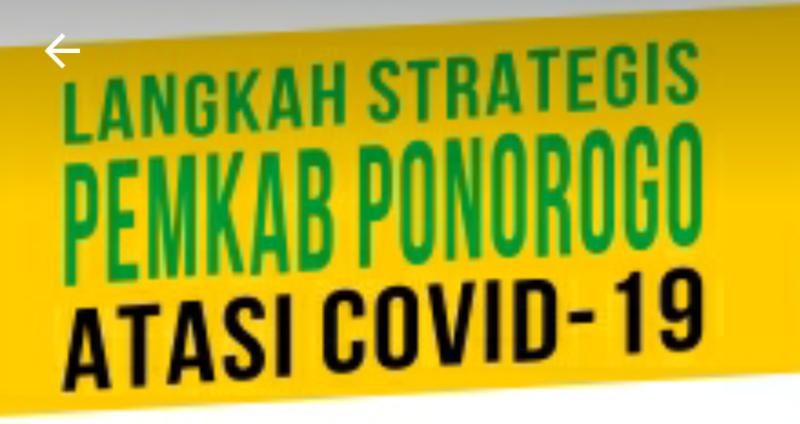 Kebijakan Pemkab Ponorogo Atasi Covid-19