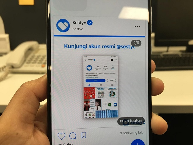 Sestyc, Saingan Instagram Karya Remaja Surabaya yang Wajib Dicoba