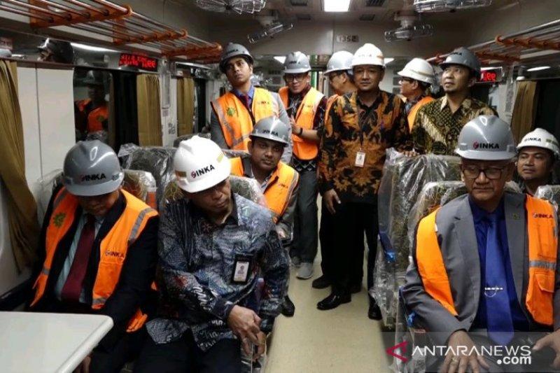 Pandemi Corona, Inka Pastikan Pesanan KA dari Bangladesh dan Filipina Rampung Sesuai Target