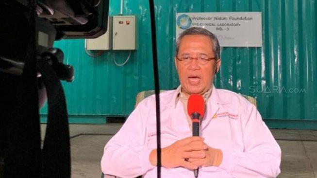 Prof. Nidom Klaim Pembuatan Antivirus Corona Selesai 2 Pekan Lagi