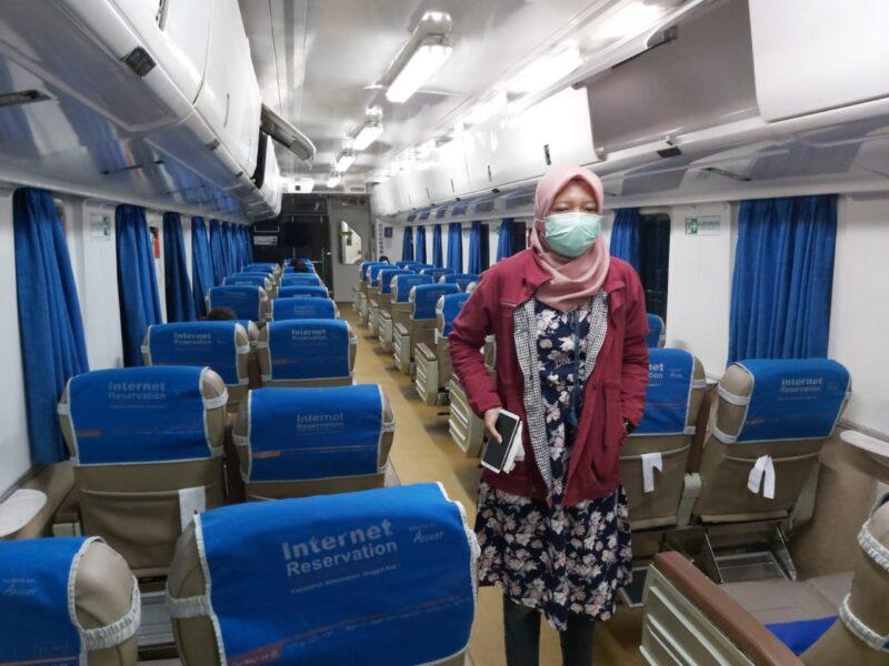Tak Pakai Masker, Penumpang Kereta Api Bakal Dilarang Naik
