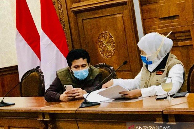 Gubernur Jatim Minta Surabaya Dan 3 Daerah Lain Pertimbangkan Ajukan PSBB