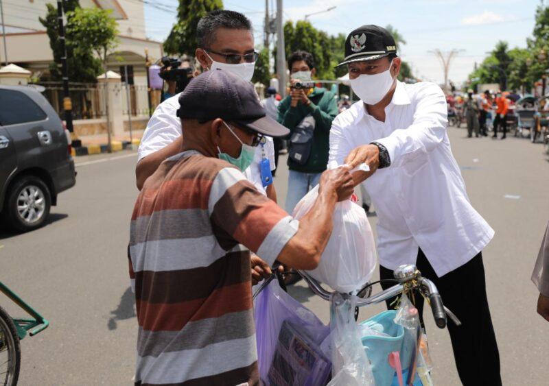 Pemkot Madiun Mulai Salurkan Bantuan Pangan Non Tunai Daerah