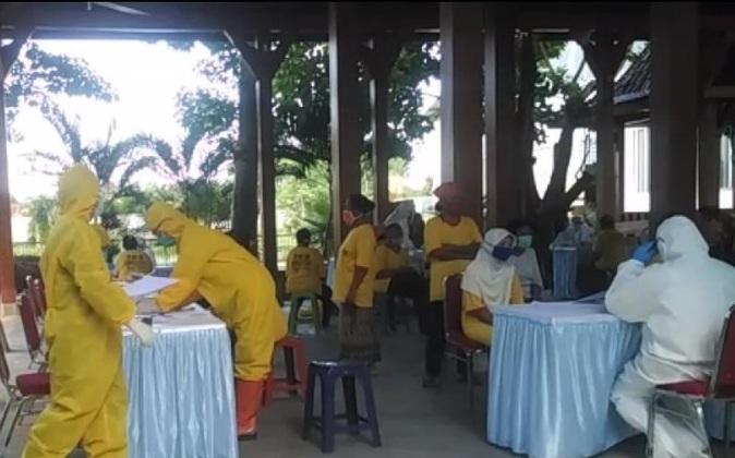 17 Karyawan Pabrik Rokok di Tulungagung Jalani Rapid Test, Hasilnya Reaktif