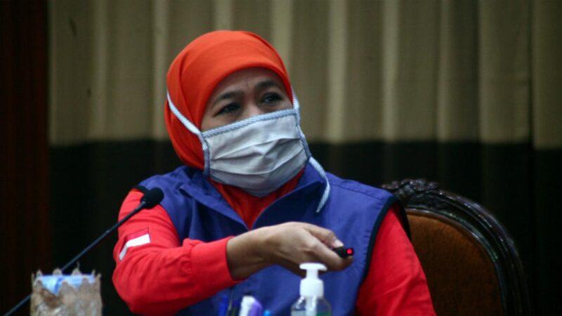 Gubernur Khofifah: Jawa Timur Belum Akan Terapkan New Normal