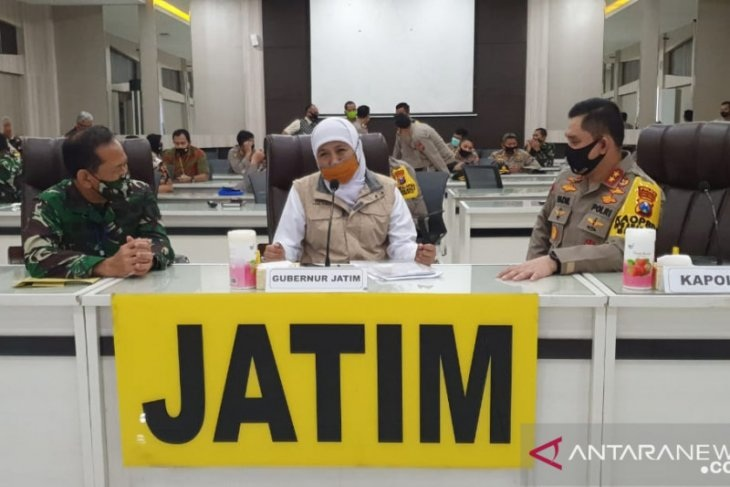 Terapkan Kampung Tangguh Cegah Covid-19, Pemprov Jatim gandeng TNI-Polri
