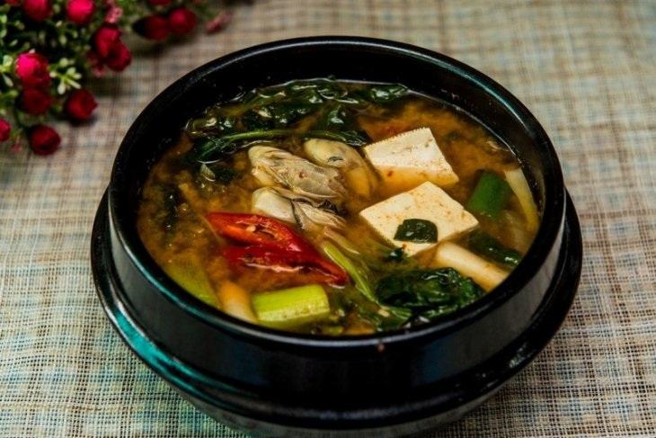 Sup Tofu Menu Buka Puasa Kaya Protein