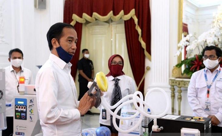 Tingginya Kasus Covid-19 di Jatim Jadi Perhatian Presiden Jokowi