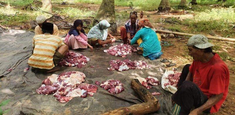 Hanya dengan Rp3.000/Pekan, Warga Desa Jadung di Sumenep Bisa Potong Sapi Untuk Lebaran