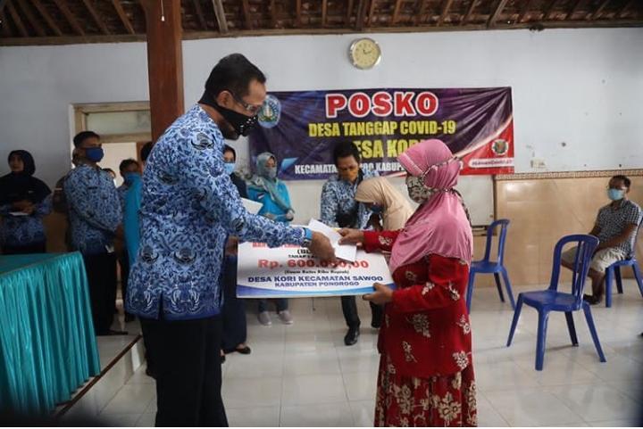 21.232 Keluarga di Ponorogo Mulai Terima BLT DD Senilai Rp600.000
