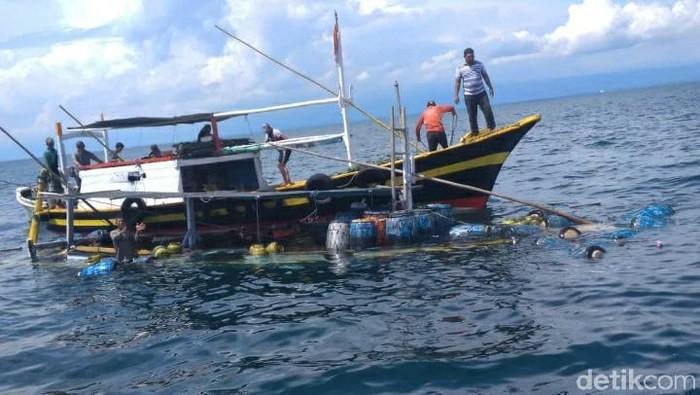 Kapal Motor Mandala Tenggelam di Perairan Kota Probolinggo