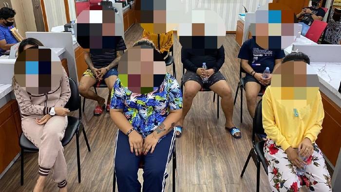Polrestabes Surabaya Bongkar Praktik Prostitusi Online, 7 Muncikari Ditangkap