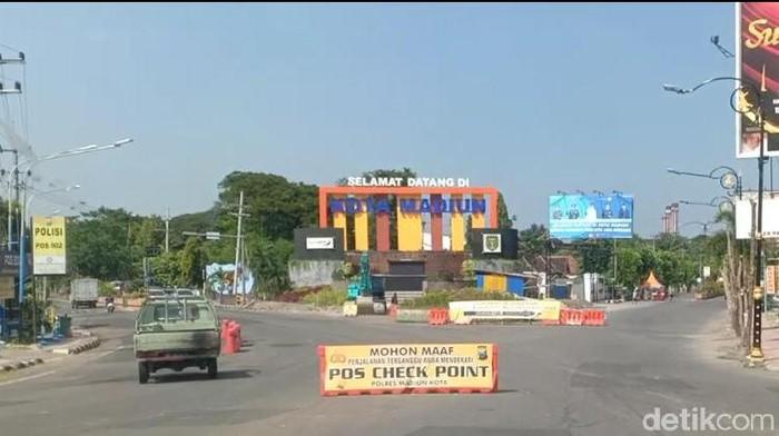 Posko Check Point Tak Dijaga, Kendaraan Luar Bebas Masuk Kota Madiun
