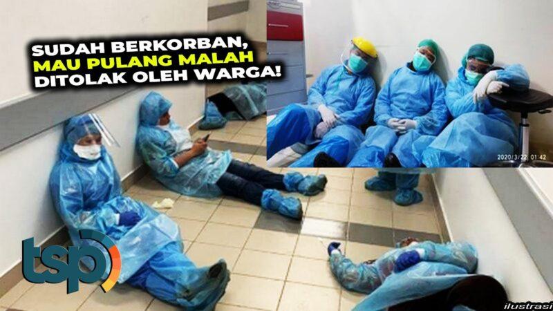 Tega! Warga Pacitan Larang 2 Tenaga Medis Pulang Karena Takut Tertular Corona