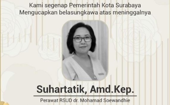 Kabar Duka, Dua Tenaga Medis Surabaya Meninggal Dunia Karena Corona