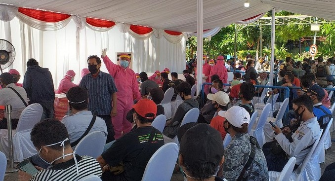 Hasil Rapid Test Reaktif, 100 Warga Surabaya Langsung Dikarantina