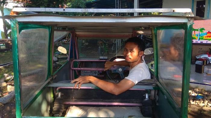 Bikin Mobil Listrik, Pria Lulusan SMP Asal Jember Ini Hanya Belajar dari Youtube