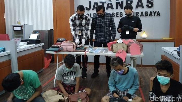 4 Jambret di Surabaya Didor Polisi, Beraksi di 31 TKP