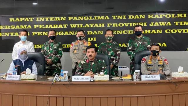 Panglima TNI: Surabaya Harus Serius Tangani Covid-19