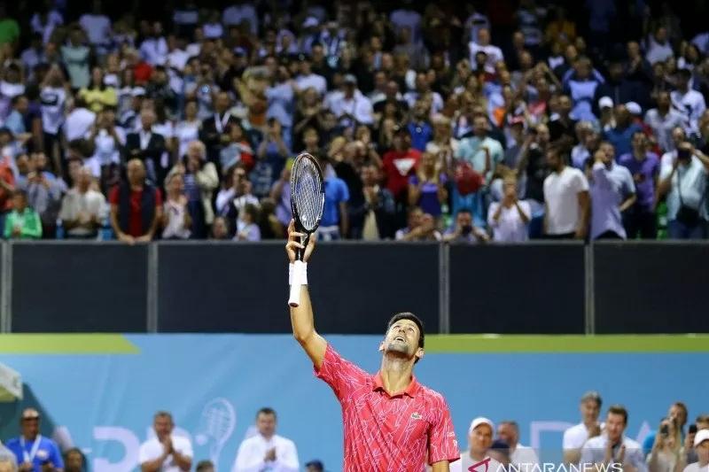 Duh, Djokovic dan Istrinya Positif Terpapar Covid-19