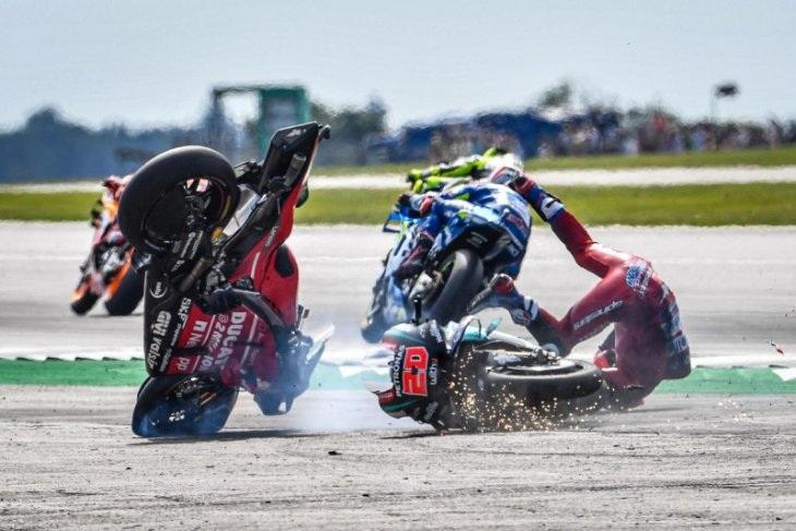 Dovizioso Patah Tulang Selangka Setelah Kecelakaan Motorcross