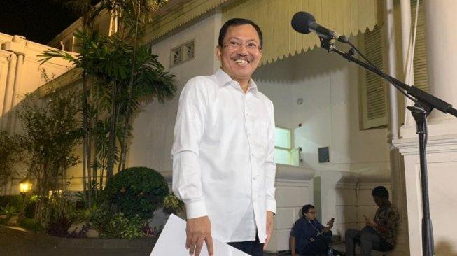 Disentil Jokowi, Menkes Terawan Jadi Trending Topic Twitter