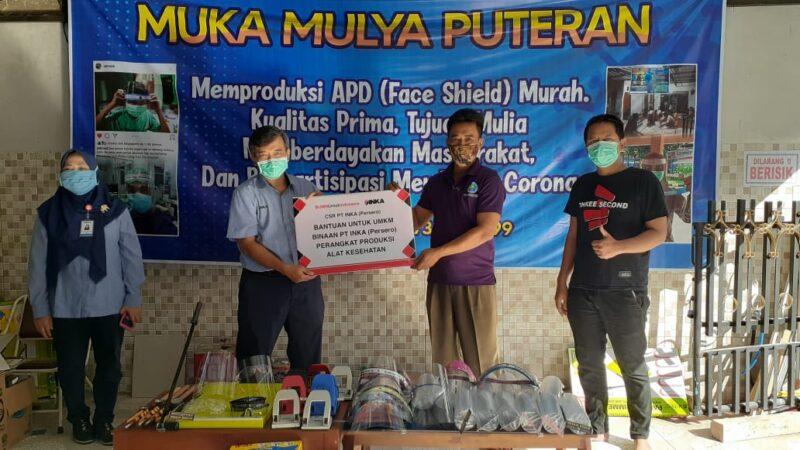 New Normal, Inka Bantu Alat Produksi Bagi UMKM Produsen APD di Madiun