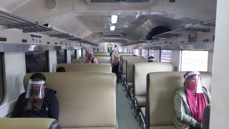 6 Orang Gagal Naik KA di Madiun karena Tidak Bawa Surat Hasil Rapid Test