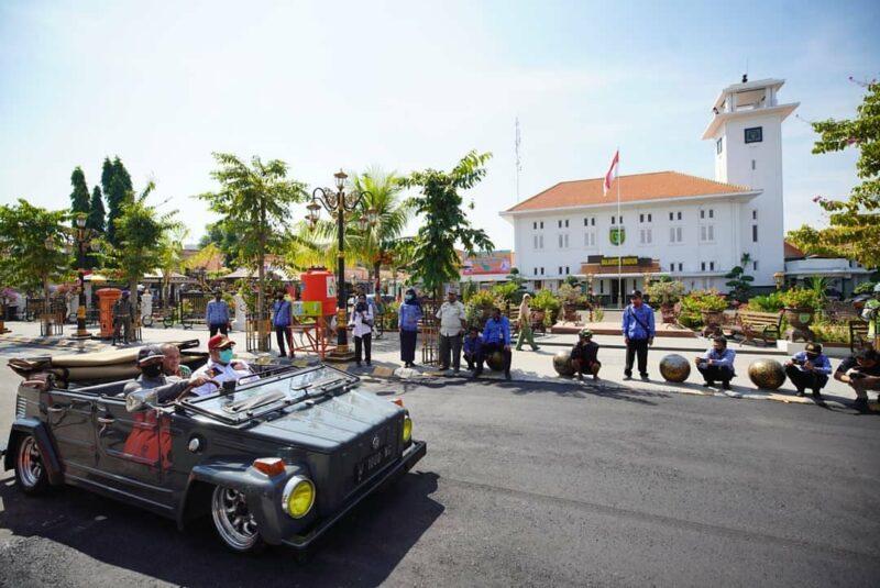 Polisi Tidur Jl. Pahlawan Madiun Sudah Diaspal, Aman Dilalui Mobil Ceper