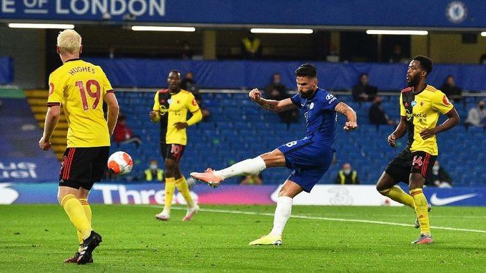 Chelsea Vs Watford: The Blues Amankan Posisi Empat Besar