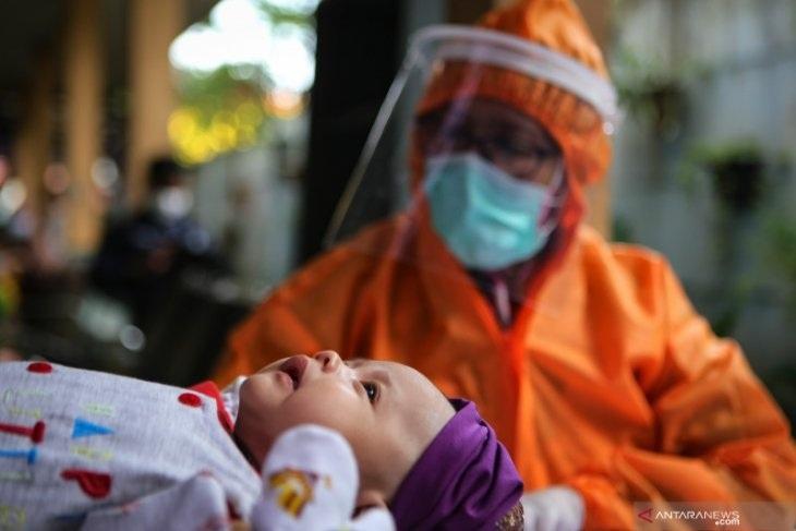 Kasihan, Bayi 9 Bulan di Kediri Terinfeksi Virus Corona