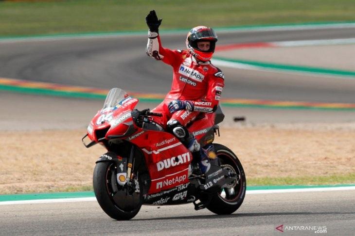 Habis Operasi Selangka Dovizioso Siap Tampil di Seri Pembuka MotoGP