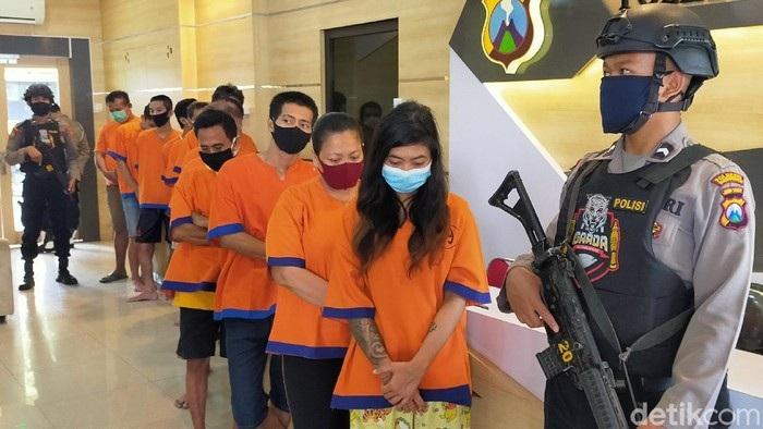 Polisi Ungkap Kasus Narkoba di Banyuwangi, 36 Tersangka Ditangkap