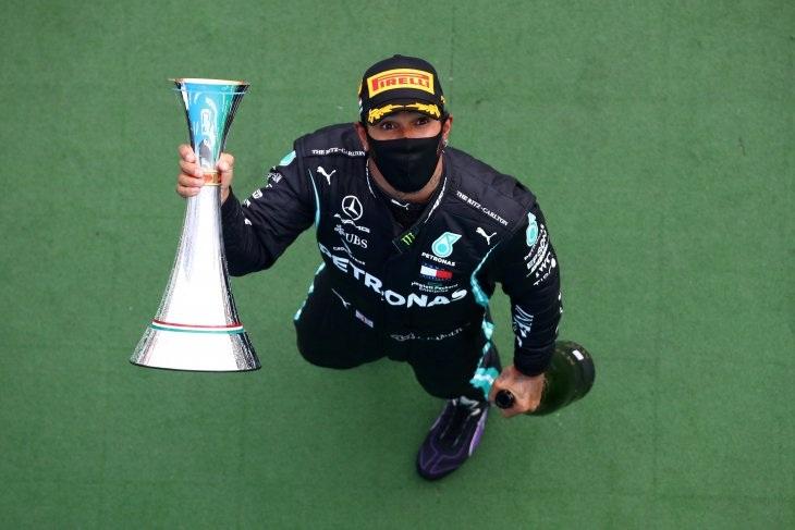Formula 1: Hamilton juarai GP Hungaria ke-8 kalinya